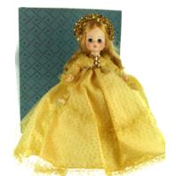 "Madame Alexander Sleeping Beauty in Golden Yellow Dress 14"" Doll"