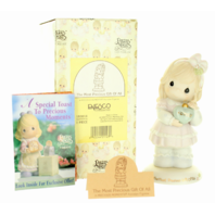 Precious Moments Figurine The Most Precious Gift of All Family Box Signed by Sam