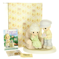 Precious Moments Figurine Many Years of Blessing You Anniversay Love In Box