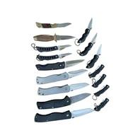 Lot of Pocket Knife Knives Jaguar Rostfrie Comanche Stainless Steel Blade