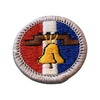 BSA Boy Scout Merit Badge Citizenship in the Nation Embroidered Uniform Patch