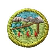 BSA Boy Scout Merit Badge Wilderness Survival Uniform Patch
