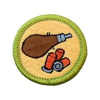 BSA Boy Scout Merit Badge Shotgun Shooting Gun Safety Uniform Patch