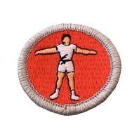 BSA Boy Scout Merit Badge Personal Fitness Uniform Patch