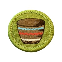BSA Boy Scout Merit Badge Basketry Basketweaving Uniform Patch