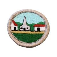 BSA Boy Scout Merit Badge Citizenship in the Community Uniform Patch