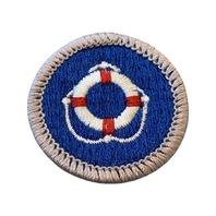 BSA Boy Scout Merit Badge Life Saving Uniform Patch