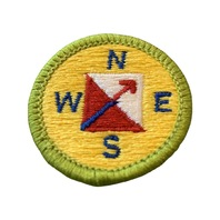 BSA Boy Scout Merit Badge Orienteering Uniform Patch