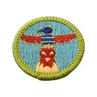 BSA Boy Scout Merit Badge Wood Carving Uniform Patch