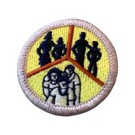 BSA Boy Scout Merit Badge Family Life Uniform Patch