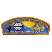 Grand Teton Council Full Time Scout BSA Boy Scout Merit Badge Uniform Patch