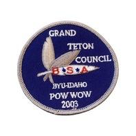 Grand Teton Council Byu-Idaho Pow Wow BSA Boy Scout Merit Badge Uniform Patch