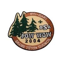 Pow Wow 2004 Grand Teton Council BSA Boy Scout Badge Uniform Patch