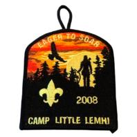 Eager to Soar Camp Little Lemhi 2008 BSA Boy Scout Badge Uniform Patch