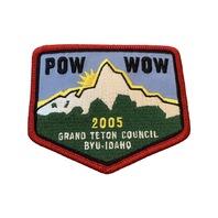 Grand Teton Council Byu-Idaho Pow Wow 2005 BSA Boy Scout Badge Uniform Patch