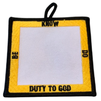 Be Know Do Duty to God BSA Boy Scout Badge Uniform Patch