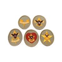 Be Prepared Lot of 5 Merit Boy Scout Badge Uniform Patch
