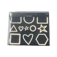 Basic Shapes Making Memories Foam Rubber Stamp Set