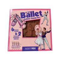 All Night MediaAt the Ballet Foam Rubber Stamp Set