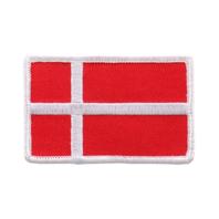 Denmark Danish Flag Biker Rider Motorcycle Uniform Patch