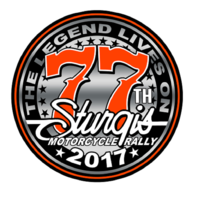 Official Sturgis 2016 Rally 77th Logo Enamel Motorcycle Hat Lapel Pin