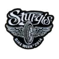 Flying Wheel 2014 Rider Motorcycle Uniform Patch