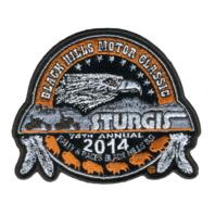 2014 Sturgis Rally Logo Rider Motorcycle Uniform Patch
