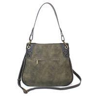 Charming Chala Faux Leather Origami Bag Handbag Purse Anchor and Star Design