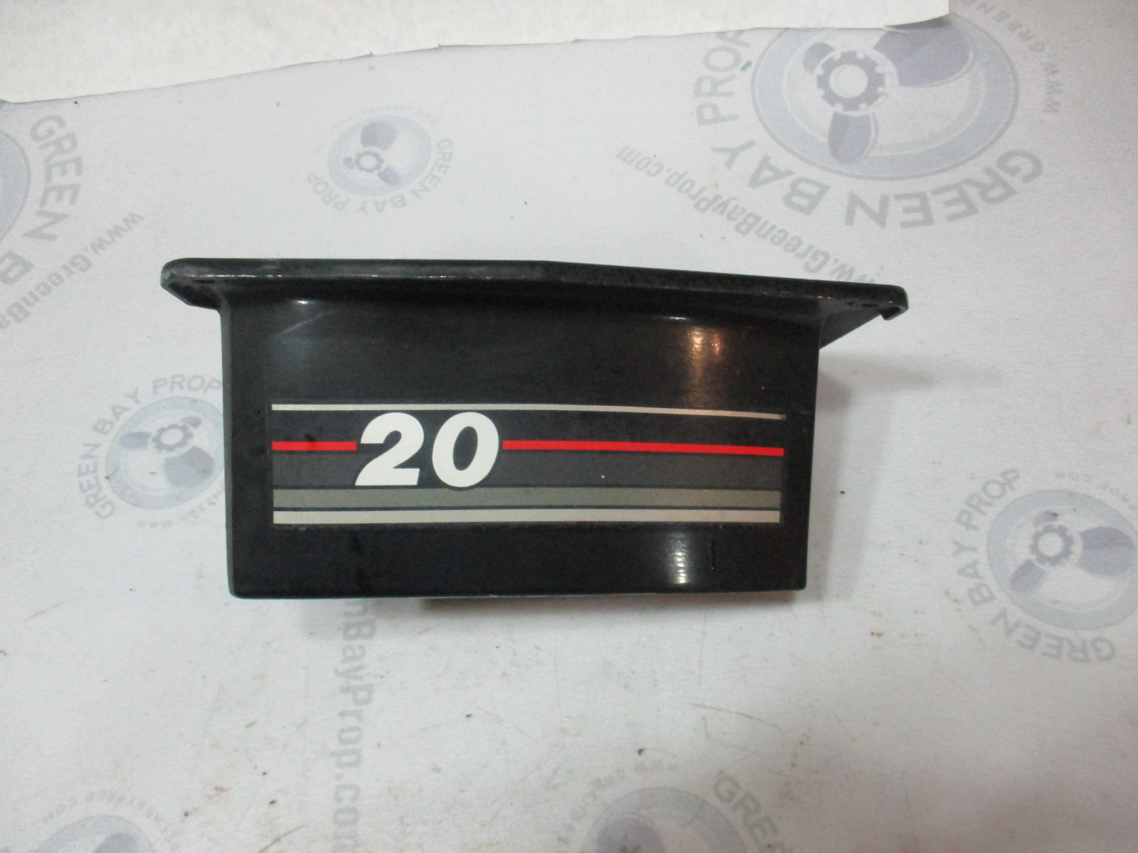 17258T Mercury Mariner Trim Cover (Black) Outboard 18, 20, 25 Hp