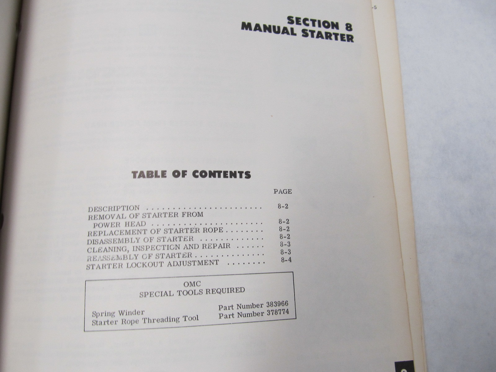 Evinrude 25 hp service Manual