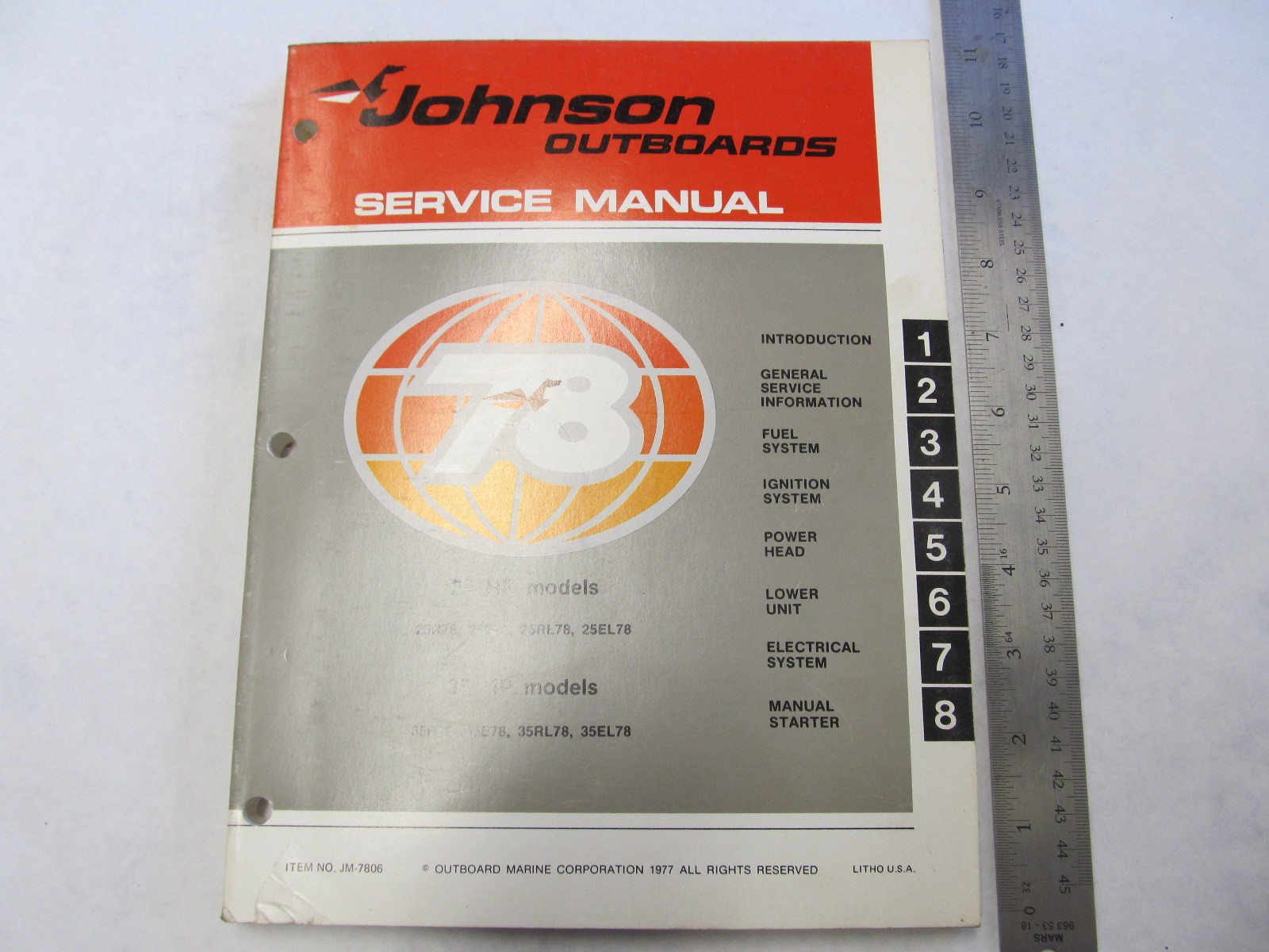 Johnson 25 hp outboard manual