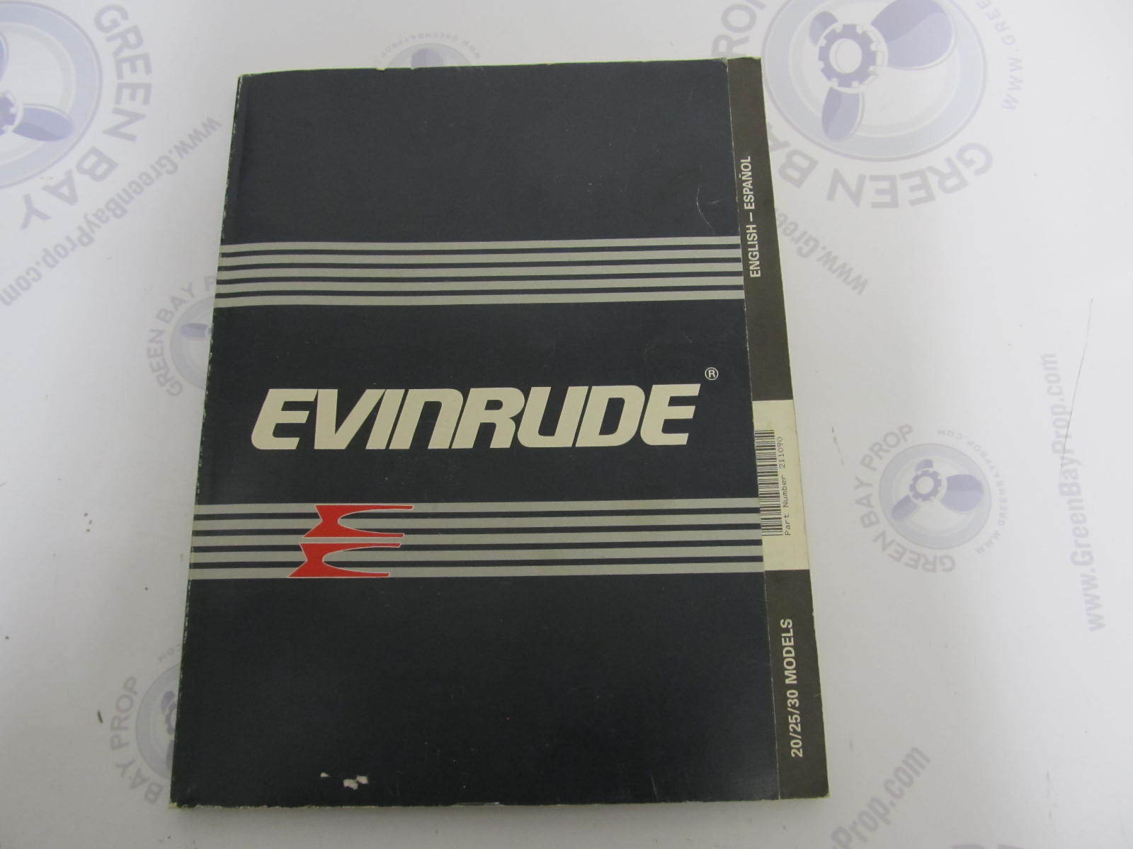 Evinrude 30 Hp 1988 manual