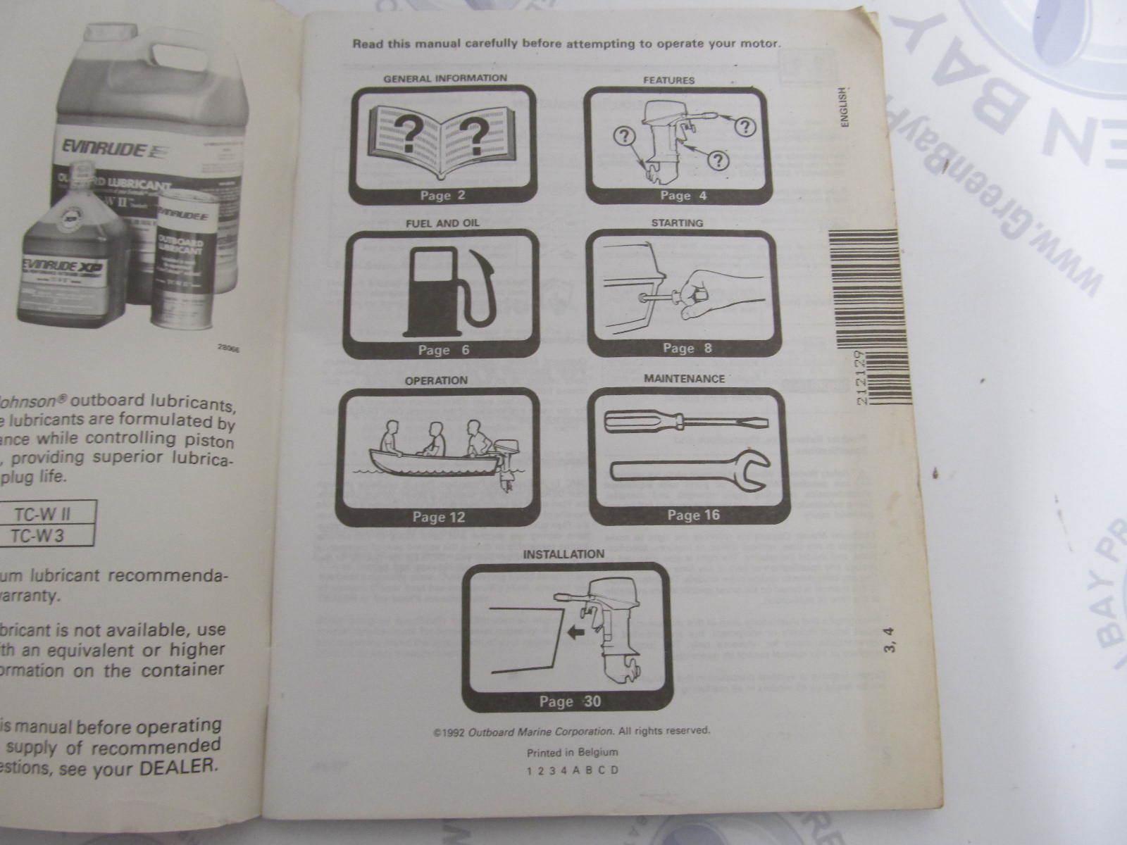 Omc Control Operations Manual