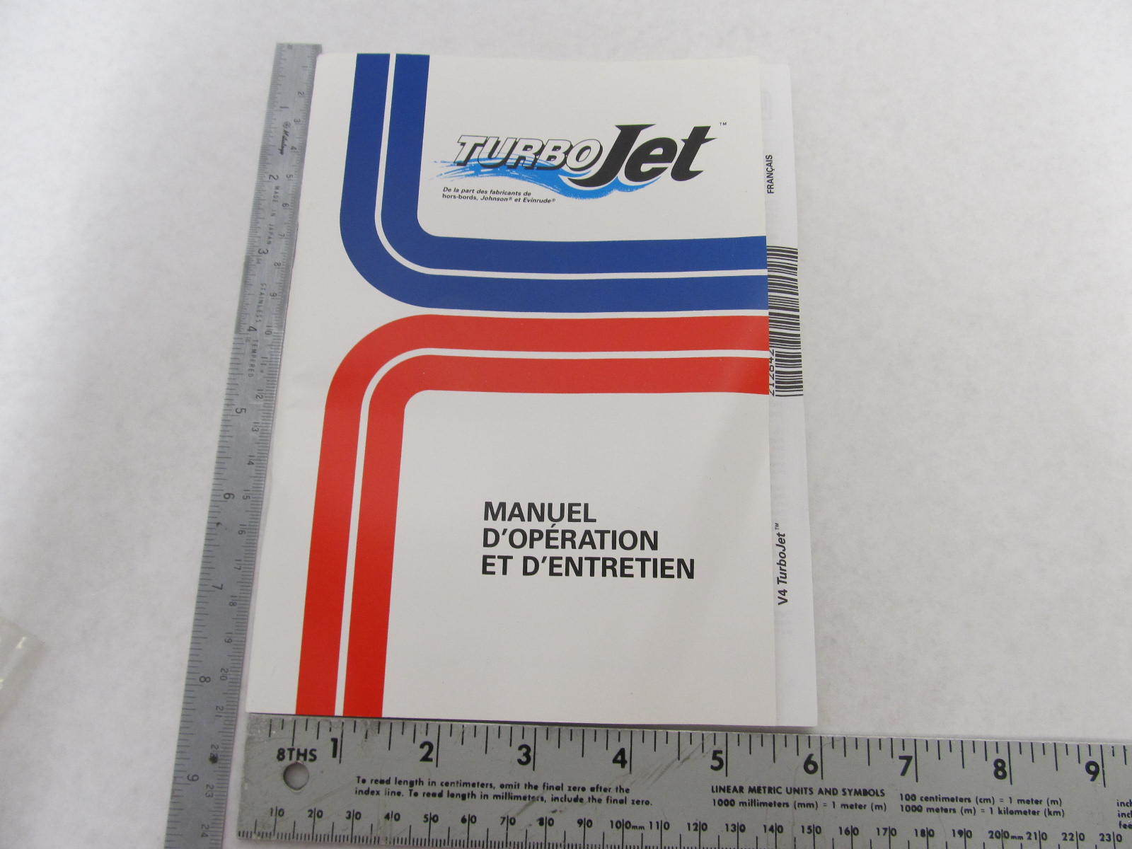 Omc 115 Turbojet service manual