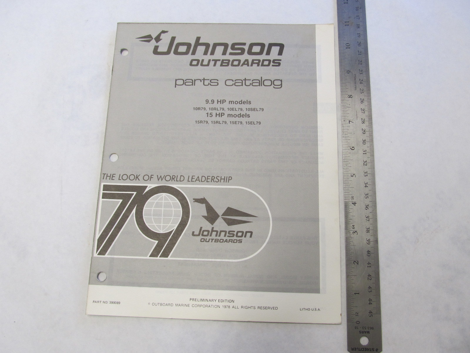Johnson 15 hp Outboard Motor parts Gamefisher 3 0 parts Manual