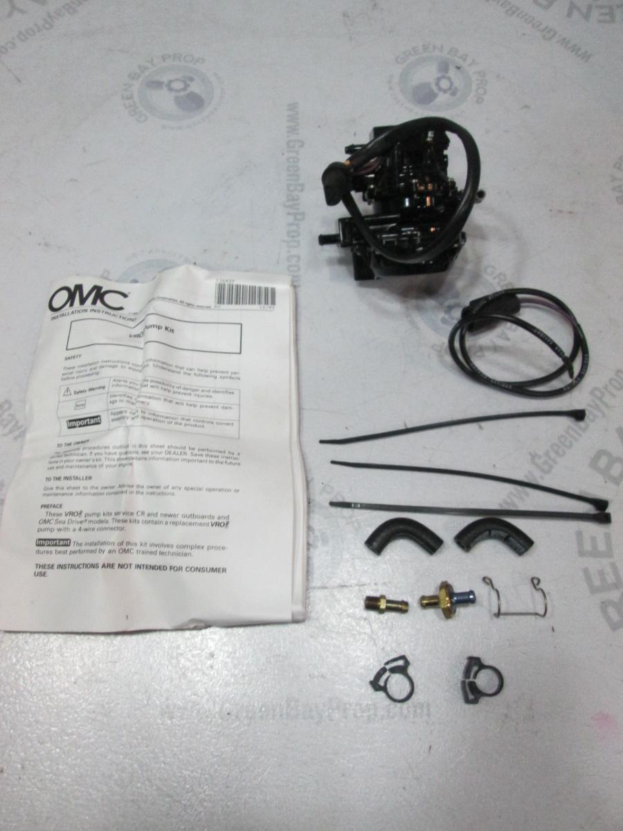 435557, 0435557 Evinrude/Johnson/OMC VRO 3 Wire Replacement Fuel / Oil Pump