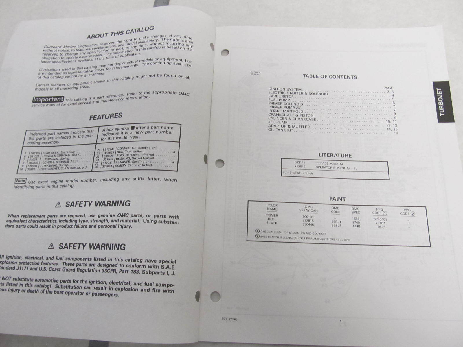 preliminary edition, oem er johnson-evinrude parts catalog, hi boaters   comments closed  omc 115 turbojet service manual  1994 johnson evinrude er  cv 85