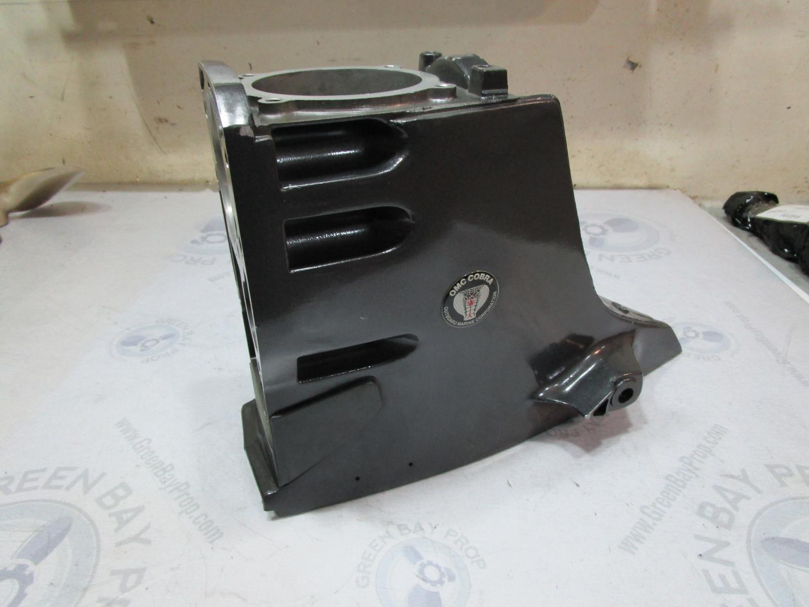 0984518 OMC Cobra 2.3 3.0 V6 V8 Stern Drive Upper Unit Gear Case Housing Empty