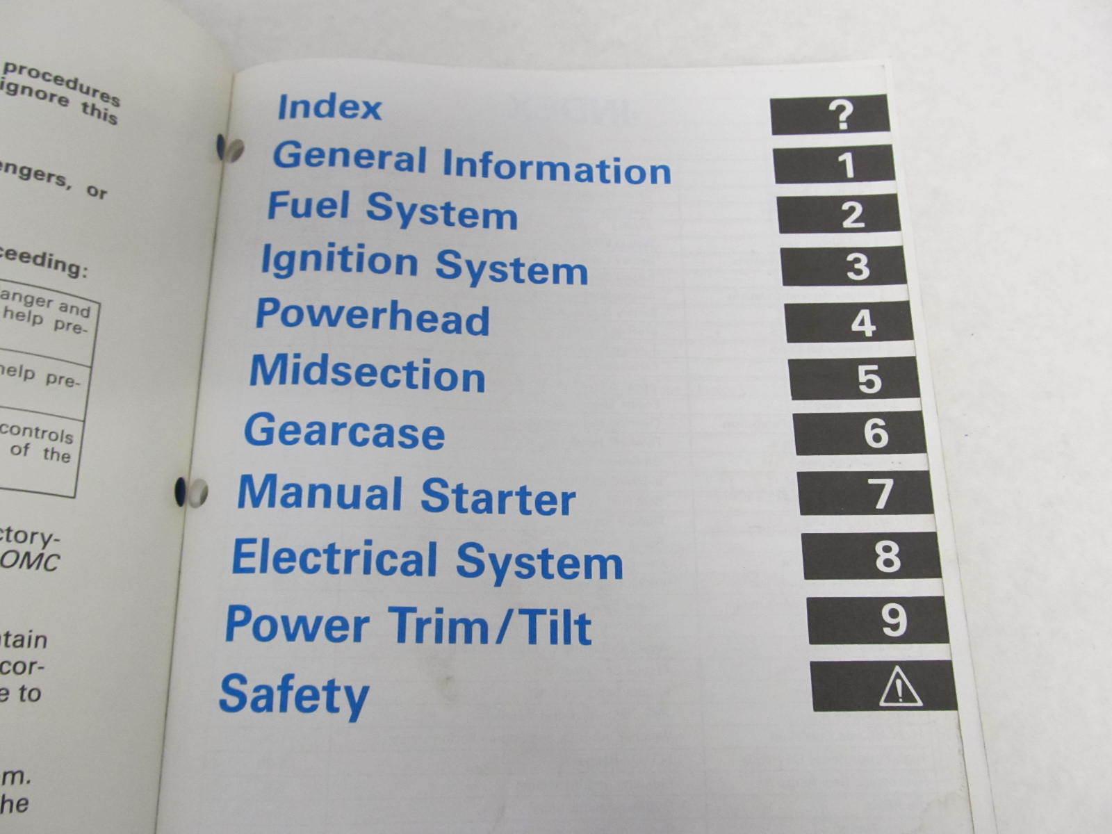 Johnson Outboard manual