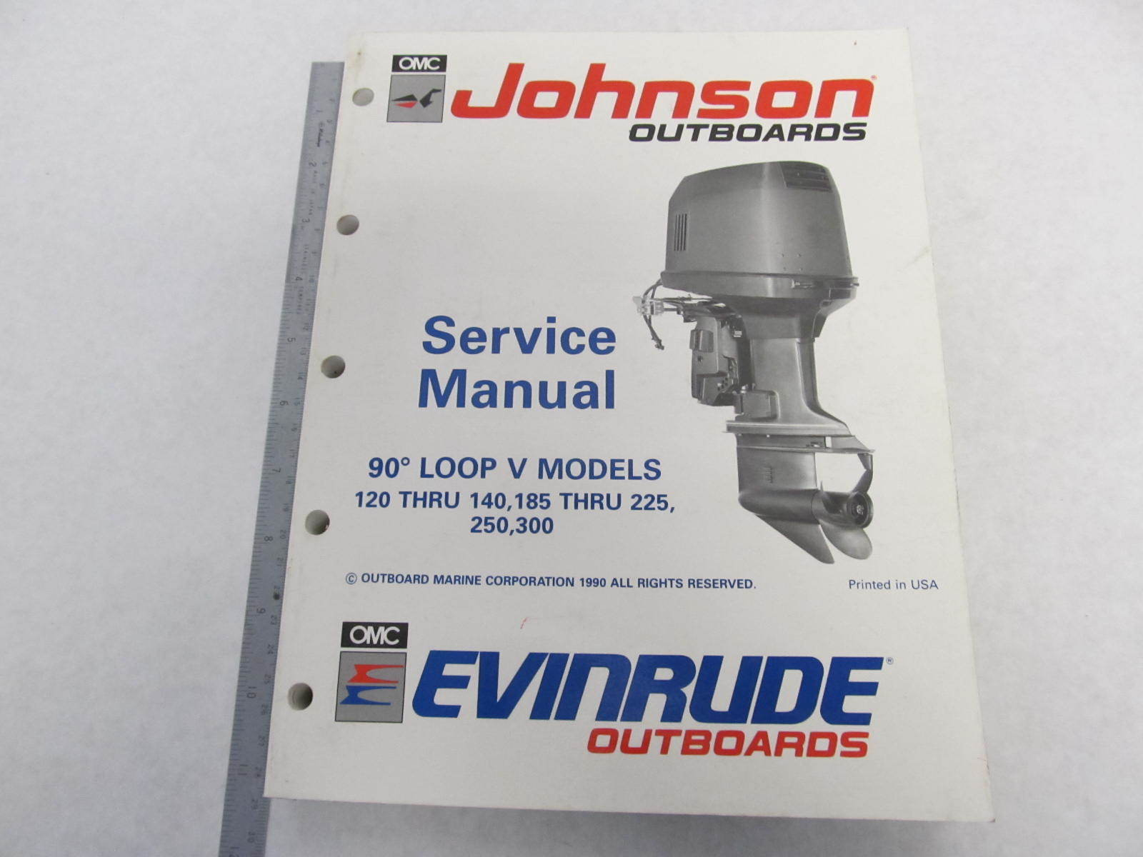 Evinrude 140 service Manual