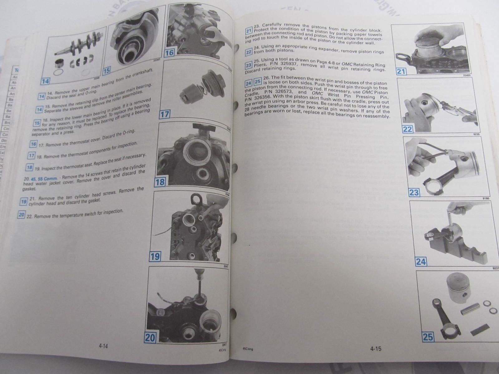 Johnson 40 hp Service manual