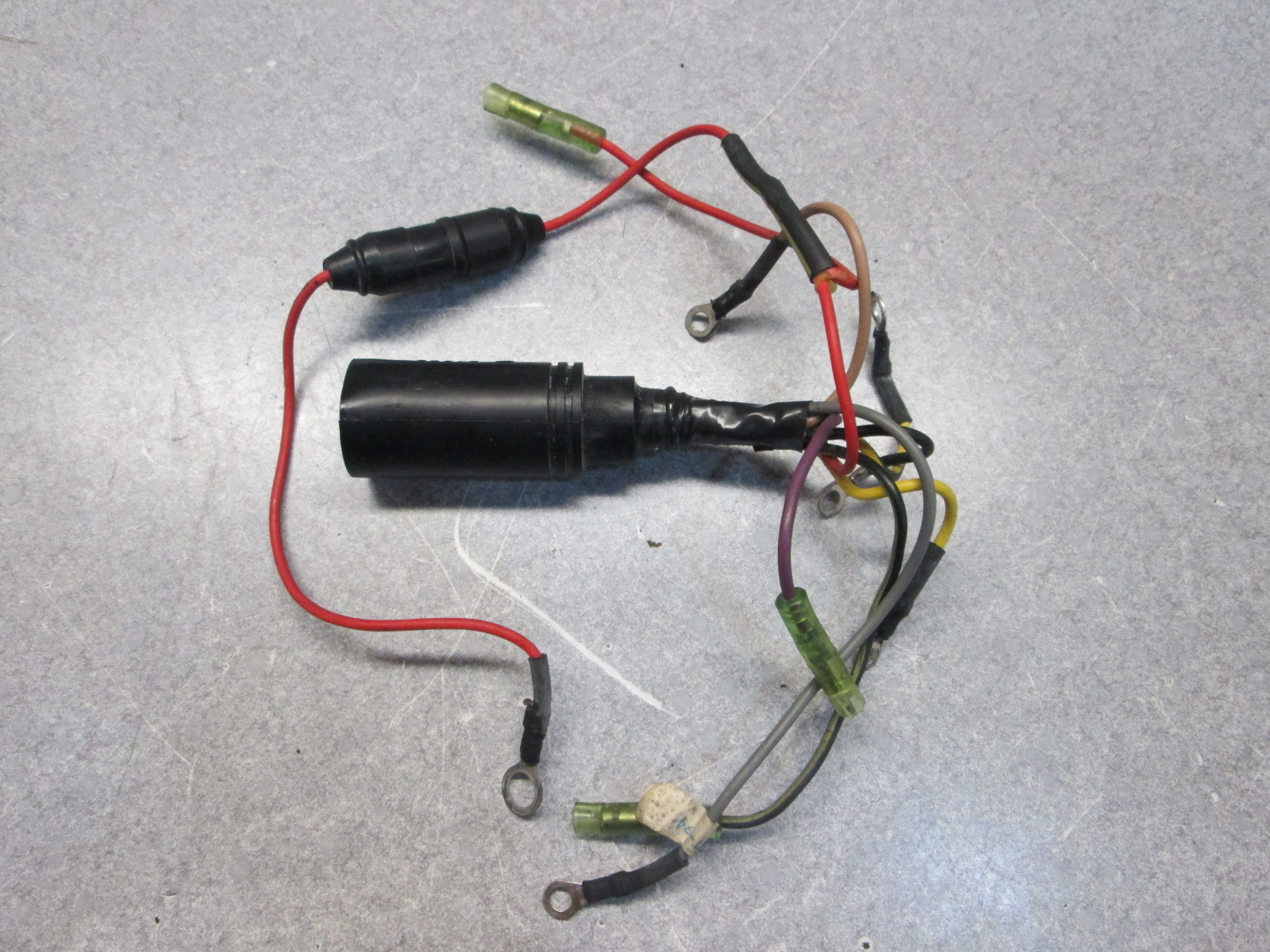 Wiring Harness For Mercury Outboard Motor Diagrams 45876 Mercruiser 84 41591a13 Mariner 75 90 Hp Engine Wire Tachometer