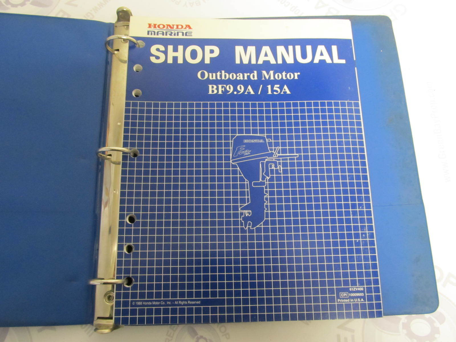 Honda Outboard manual Free on