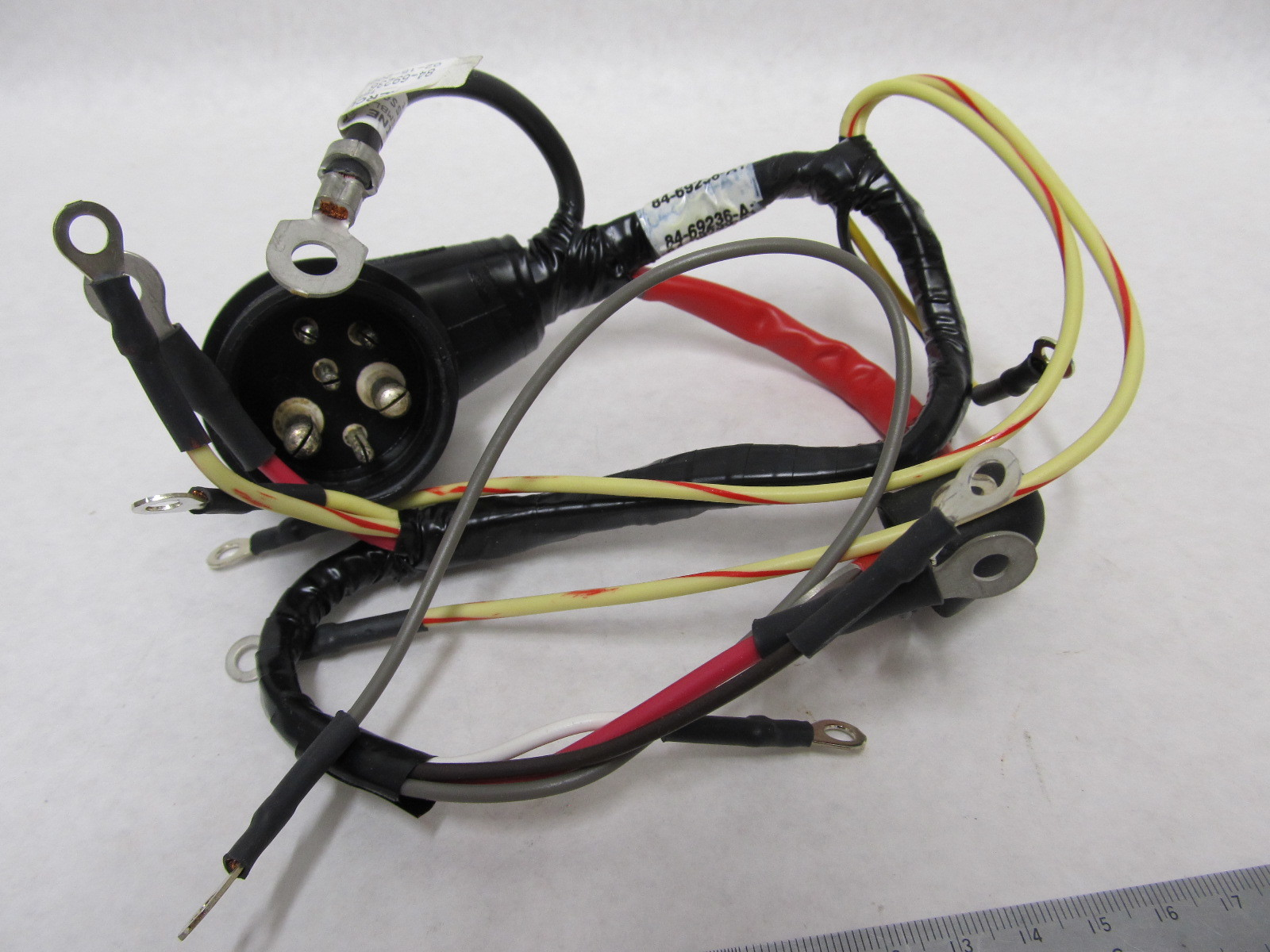 Mercury Marine Wiring Harness Real Diagram Mercruiser Adapter 84 69236a1 69236 Quicksilver
