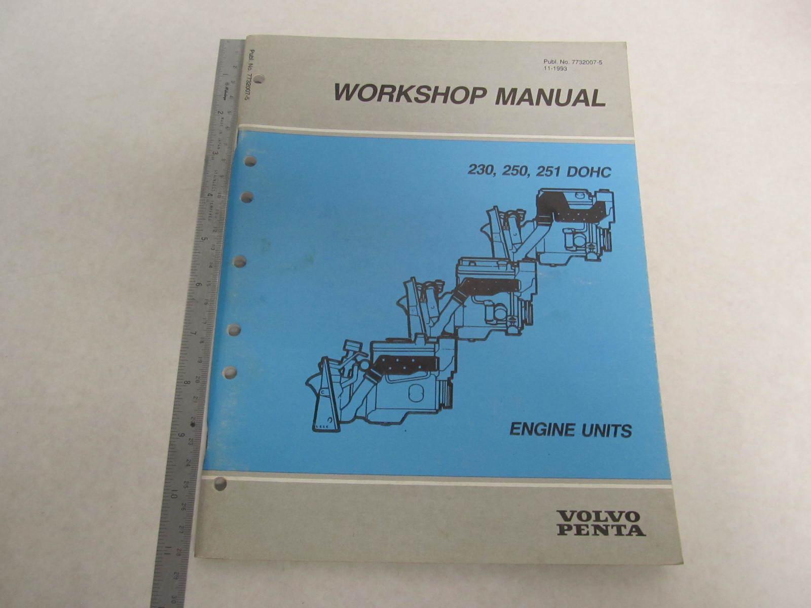 230 volvo Penta Service Manual