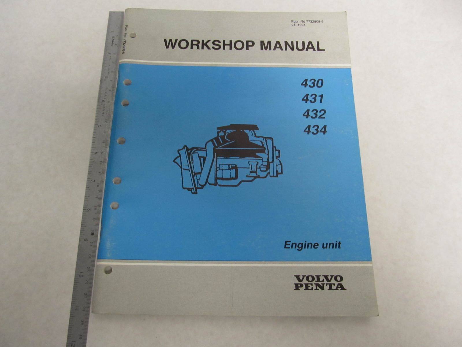 Volvo penta service manual online D55