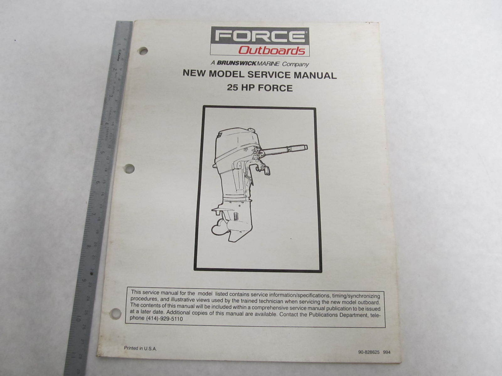 90hp Force service Manual