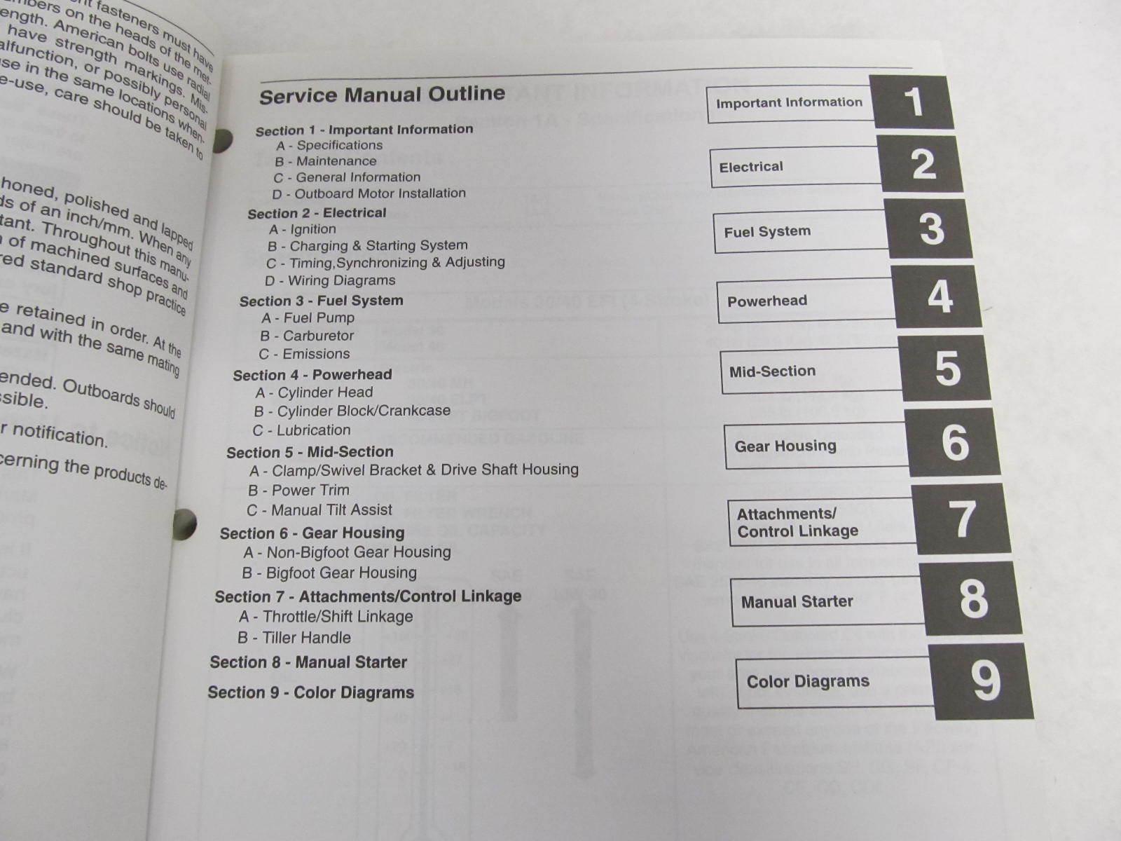 2001 mercury Outboard Repair Manual download Free