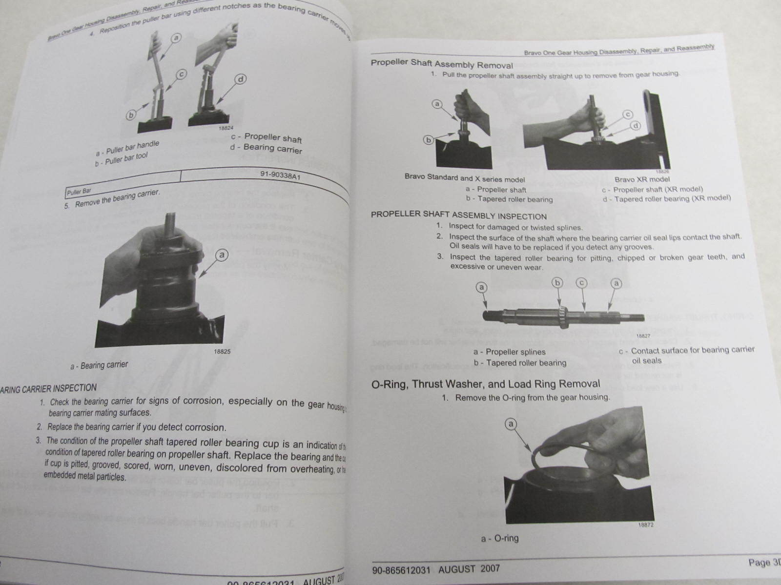 Mercruiser Bravo 3 service Manual