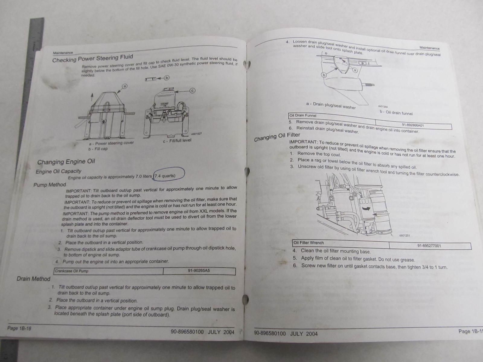 Mercury 225 Verado service Manual